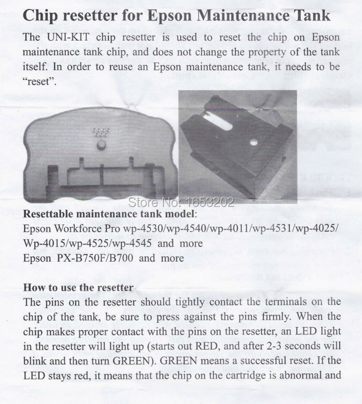 Epson WP-4530 4540 4011 4531 4025 4015 4525 4545 4521 4595 B750F B700 675F Chip Resetter (19)