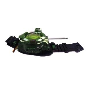 Image 5 - 2 stücke In 1 Walkie Talkie Uhr Camouflage Stil Kinder Spielzeug Kinder Elektrische Starke Klar Palette Sprech Kinder Interaktive Radio