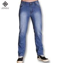 Brand Fashion Leisure True Jeans Men Mid Waist New Famous Straight Denim Long Trousers Business Designer Jeans Casual Jeans Pant