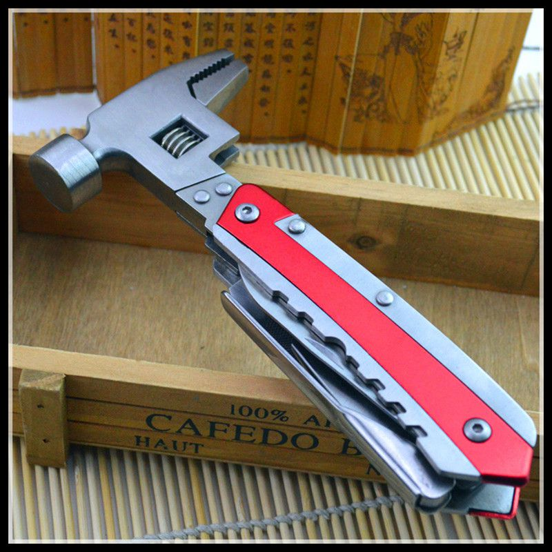 Stainless steel wrench auto repair tools multi-functional combination auto repair hammer