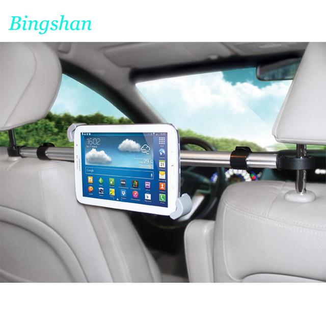 """Universal 7-10.1 """"assento de carro de volta encosto de cabeça montar titular suporte tablet para lenovo tab 2 x30f a10-30 a10-70f a10-70l a7600 s6000"""