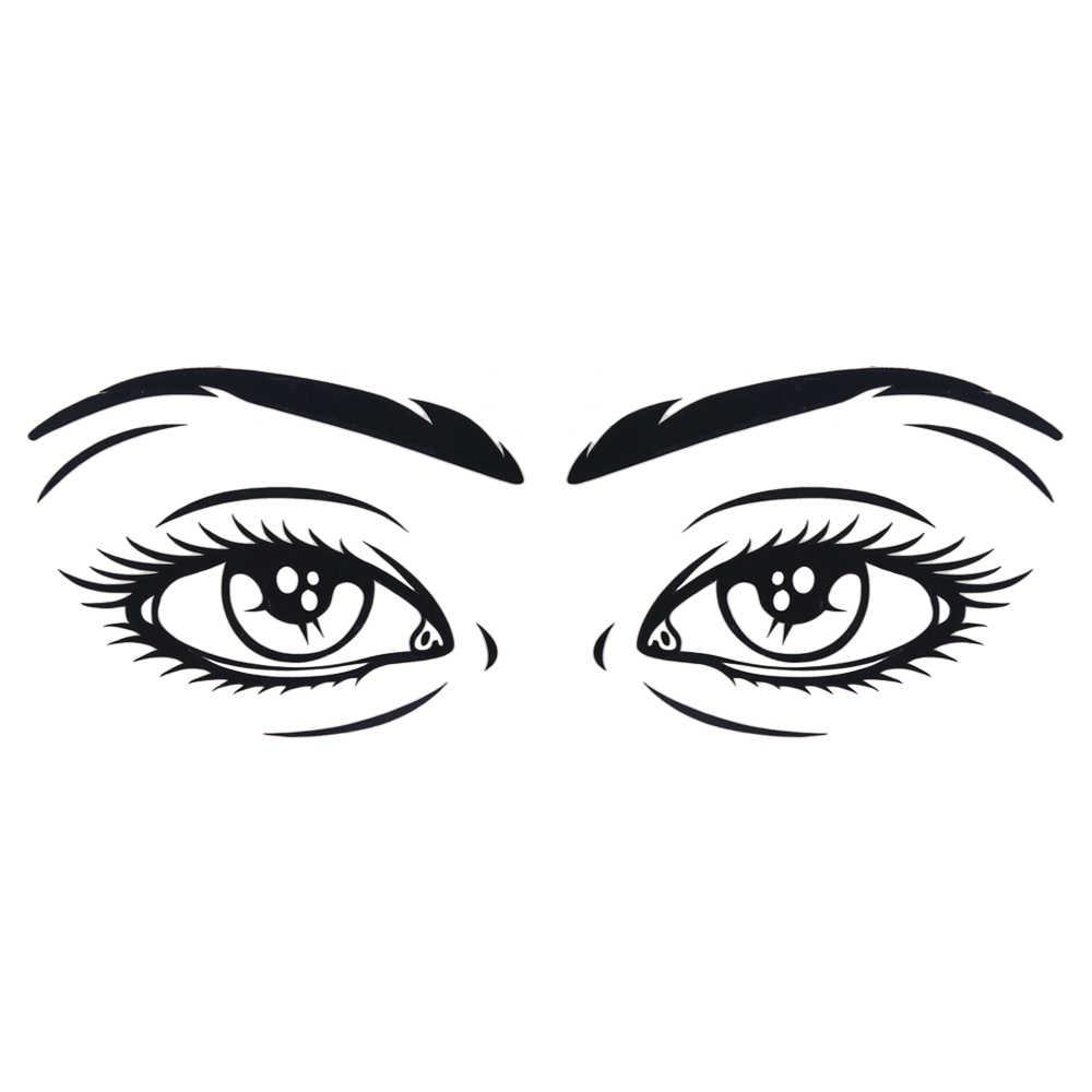 LEEPEE Окно Наклейка украшение для автомобилей Автомобильная виниловая наклейка человека наклейка для глаз самоклеющийся автомобильный Стайлинг
