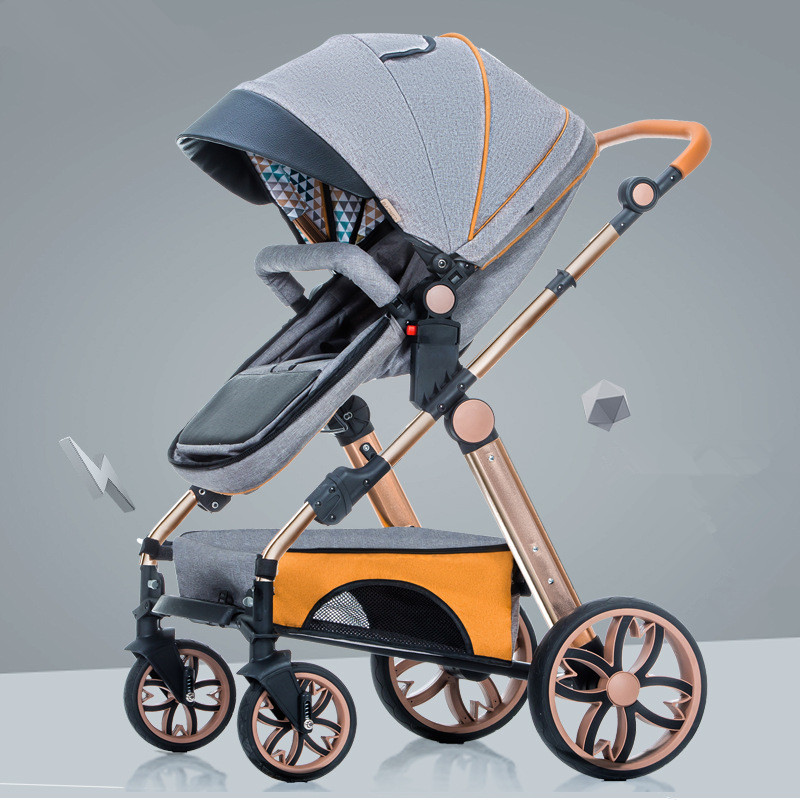 Multifunctional Adjustable Lightweight Luxury Baby Stroller Foldable Portable Stroller Hot Mom Stroller Pram Bebek ArabasiMultifunctional Adjustable Lightweight Luxury Baby Stroller Foldable Portable Stroller Hot Mom Stroller Pram Bebek Arabasi