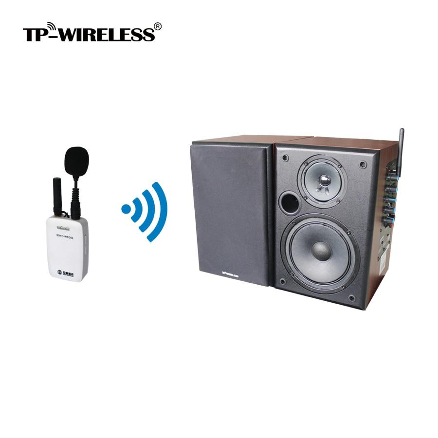 Système d'enceintes de salle de classe TP-WIRELESS 2,4 GHz pour - Audio et vidéo portable - Photo 1