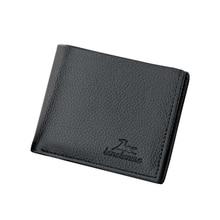 все цены на Men's short wallet wallet ticket holder credit card holder US dollar minimum business PU leather wallet purse brand wallet