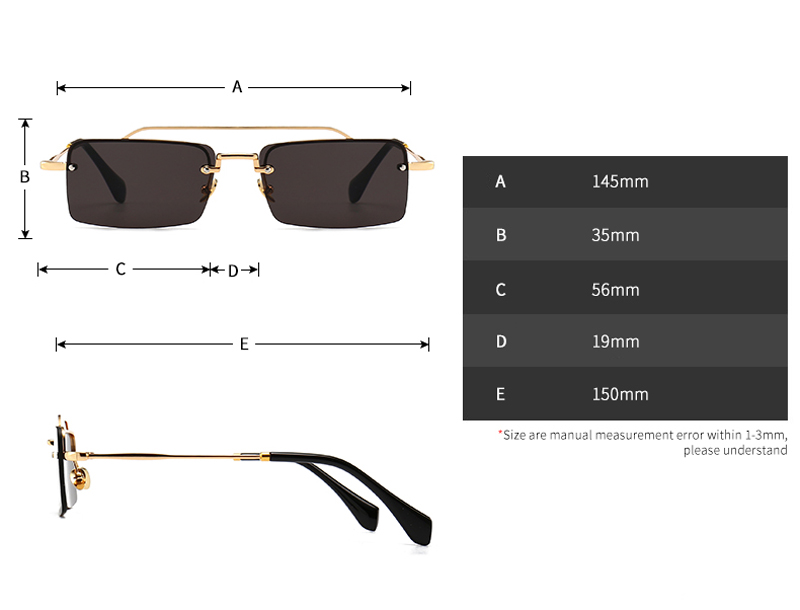 small frame sunglasses 5065 details (2)