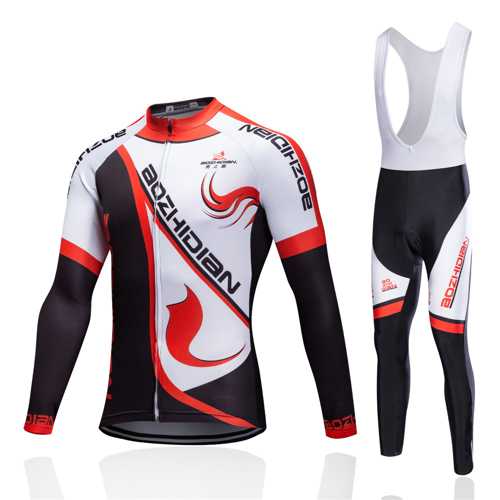 huge selection of 0e1d7 1dcaf US $17.54 35% OFF|2019 Men's Cycling Jerseys Set Long Sleeve Ropa Ciclismo  Hombre Camisa De Ciclismo Psg Jersey Cheap Authentic Sports Jerseys-in ...