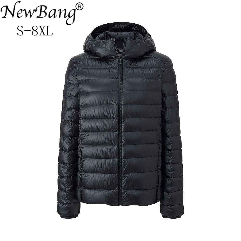 NewBang Brand 7XL 8XL Women's Down Coat Ultra Light Down