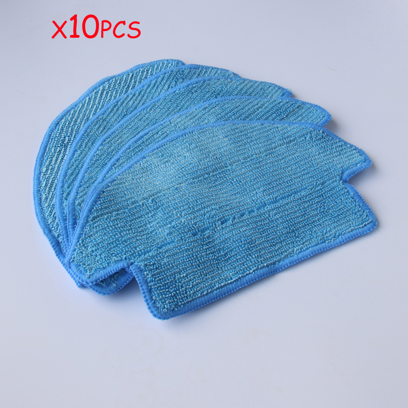 10*Mop Cloths for dibea d900 robot Vacuum Cleaner replacement Parts Cloth good quality 5300mah 3 7v replacement battery for for irobot bravva jet 240 241 244 robot cleaner parts accessoies not mop