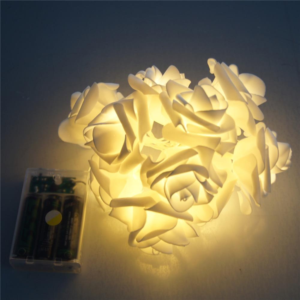 Үйлену безендіру Роза Ертегілерге - Мерекелік жарықтандыру - фото 5
