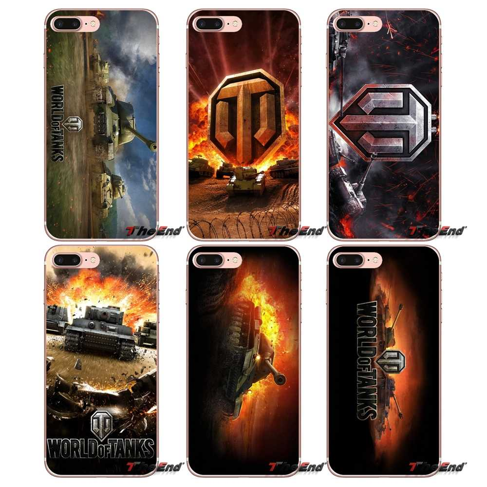 Dla Huawei Honor 4C 5X 5C 6X Mate 7 8 9 Y3 Y5 Y6 II 2 Pro G7 G8 P7 p8 P9 Lite 2017 world of tanks gry world of tanks sztuki Logo miękki futerał