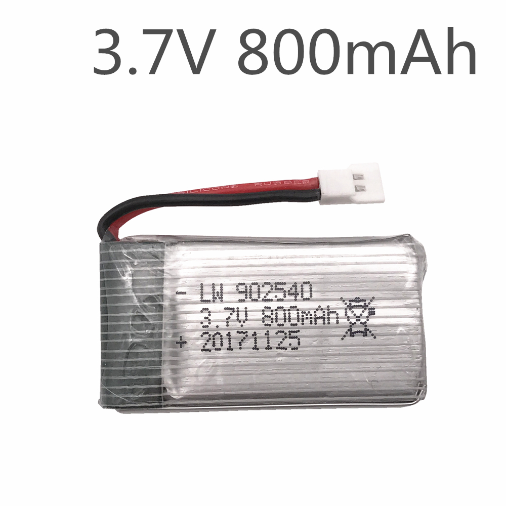 3.7V 800mAh Battery For Syma X5 X5C X5C-1 X5S X5SW X5SC V931 H5C CX-30 CX-30W Quadcopter Spare Parts With X5C X5SW Battery