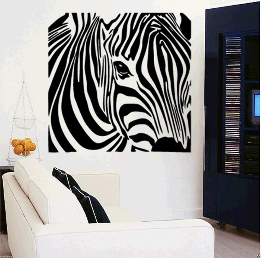 popular animal wall stickers zebra-buy cheap animal wall stickers