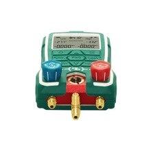 LED Refrigerant pressure-temperature gauges, refrigeration system pressure, condensing temperature, evaporation temperature,