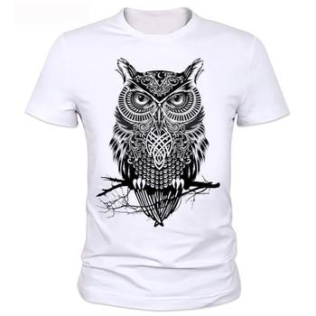 Homme OWL T-shirt mens brand tee shirt 2020 men t-shirt summer style men t-shirt with funny print men's t-shirt  24#