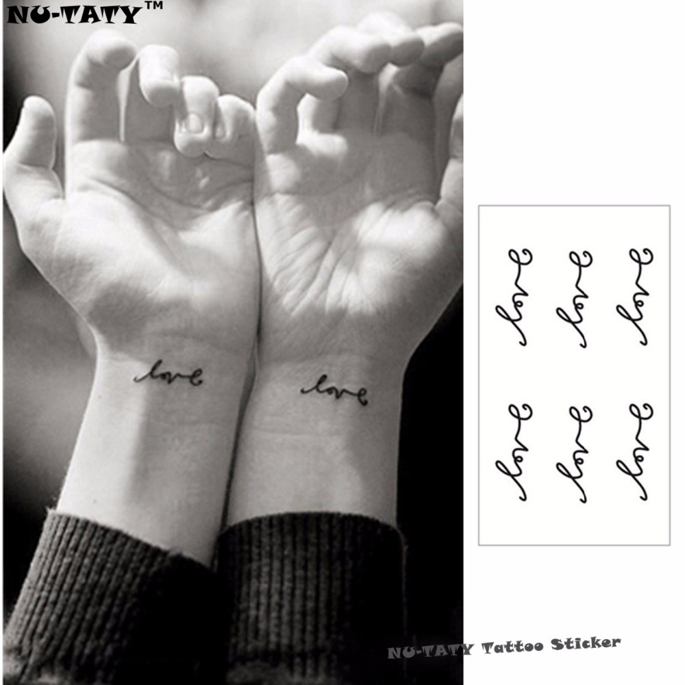 deadb1eb9 Nu TATY French Flash Tattoo Hand Sticker 10.5*6cm Small Waterproof Henna  Beauty Temporary Body Tattoo Sticker Art FREE SHIPPING-in Temporary Tattoos  from ...