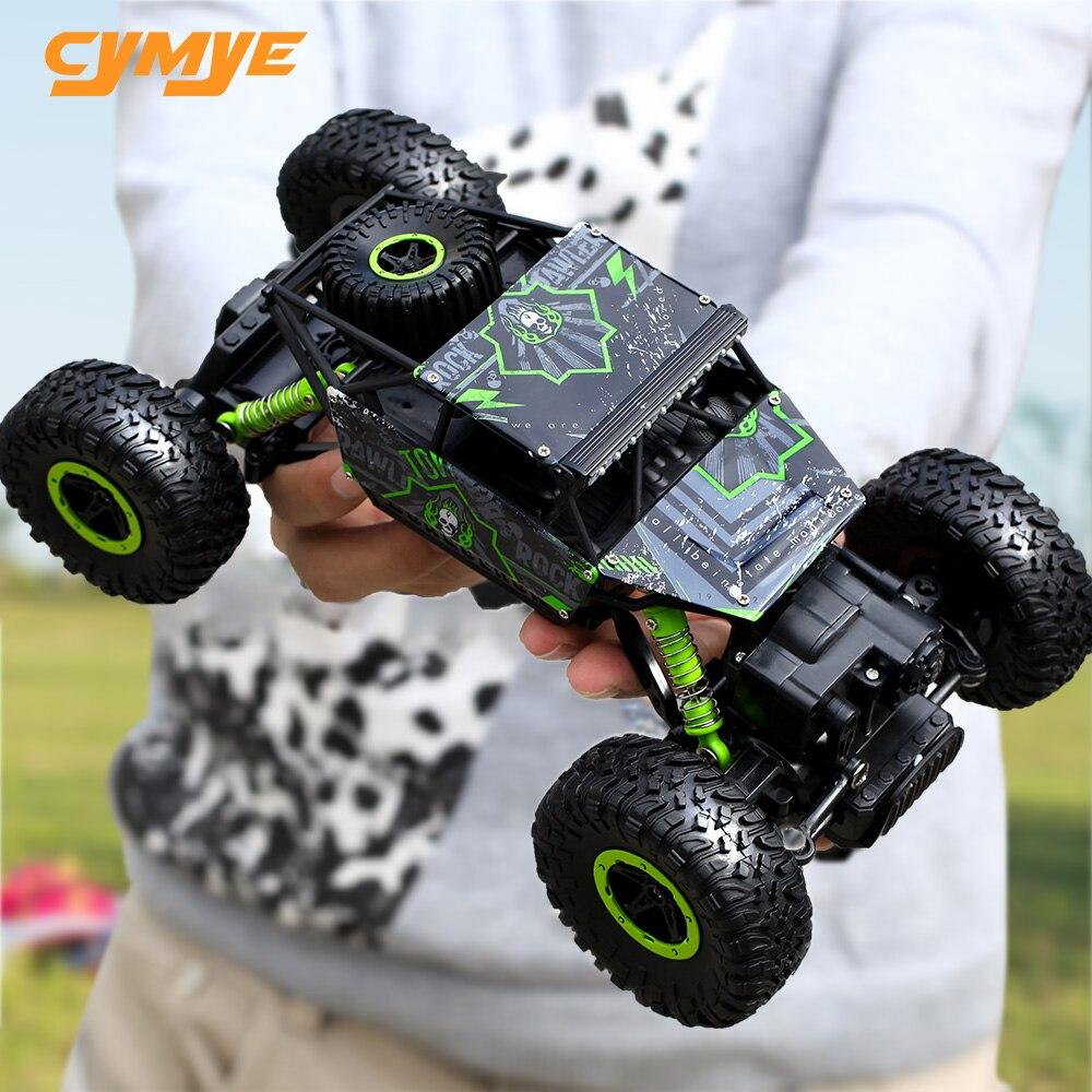 Cymye el coche de RC Racing 1:18 Rock Crawler 2,4 GHz de Control remoto inalámbrico diciendo Coche