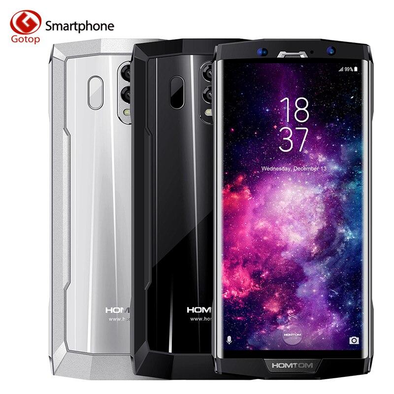Homtom HT70 MTK6750T Octa Core 6,0 HD + 18:9 Экран смартфон 4 ГБ Оперативная память 64 ГБ Встроенная память 10000 мАч 4 г 16MP + 5MP двойной назад Cam мобильного телефона