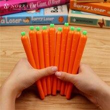 Kawaii Stationery 0.5mm Novelty Fresh Carrot Gel Ink Pen Cute Gift