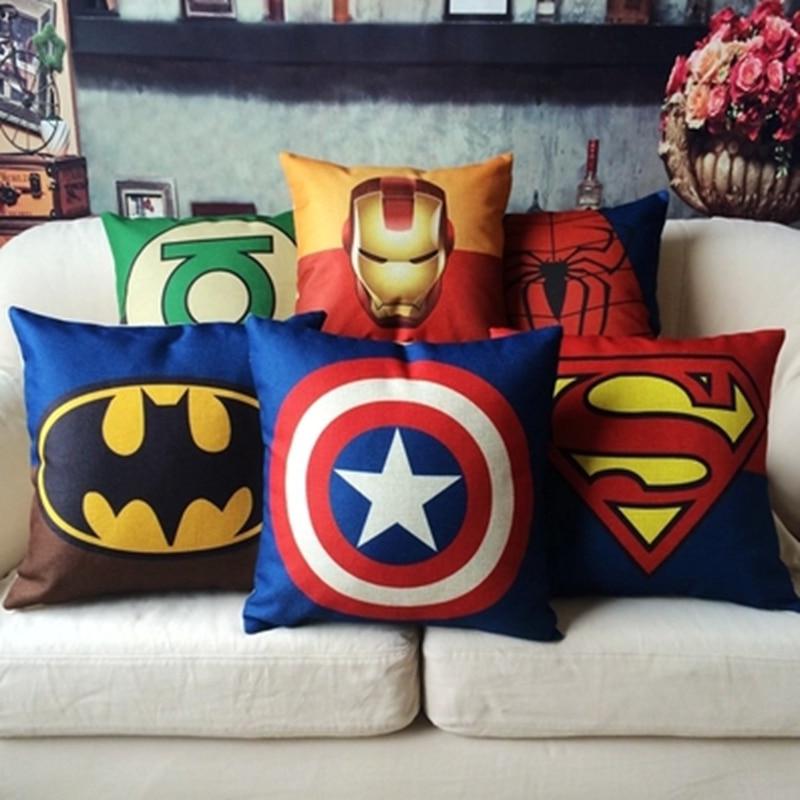 Marvel Avengers Decorative Pillows Cushion Iron Man