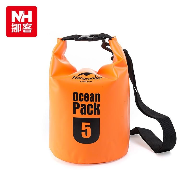 Naturehike New 5L 500D Ocean Pack Wading Waterproof Bag Drifting