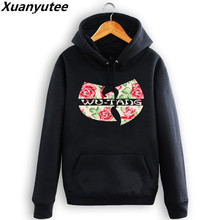 Xuanyutee Wu Tang Clan Sweat Homme HipHop Style Hi Street Wear Fashion Hoodie Fleece Cotton Pullover S-2XL Customized Tracksuit