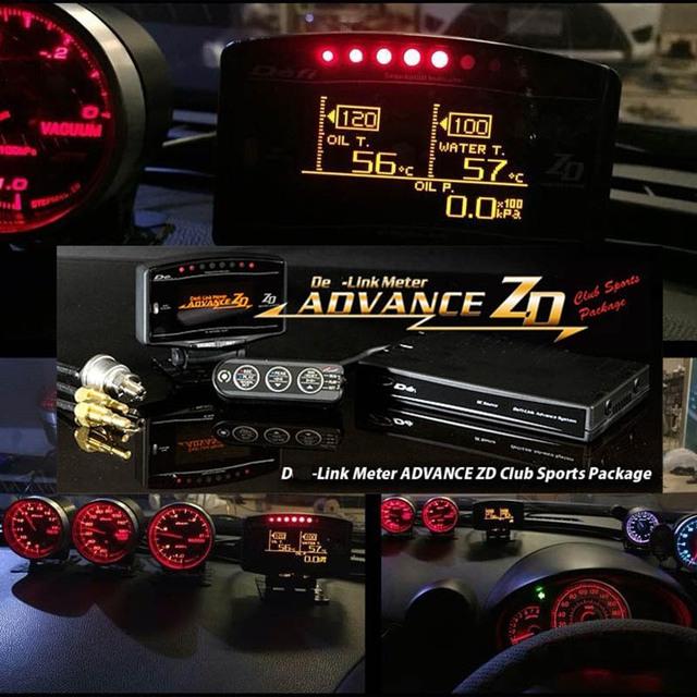 TANSK-ZD DF Avanço CR C2 Esportes Estilo BF Medidor Digital Kit Completo 60 Calibre 52 10in1 TK-DF09703