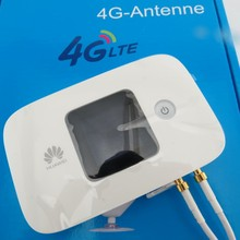 4g Lte router wifi With 4G external antenna 300mbps Cat6 huawei E5786 white