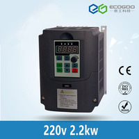 VFD 2.2KW 220V AC Variable Solar Pump Frequency Inverter With MPPT