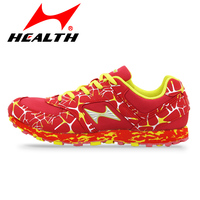 HEALTH men shoes sport Long jump sports running shoes marathon athletic trail training runing shoes Man woman running sneakers