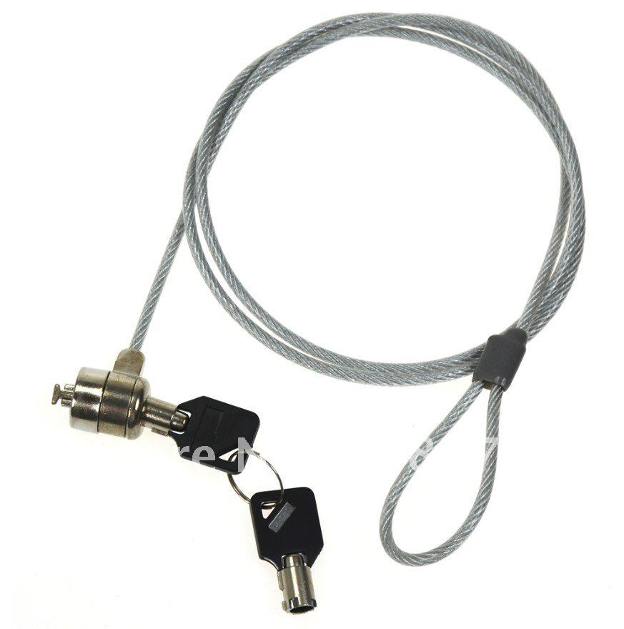 SECURITY CABLE FITS IN KENSINGTON LOCK FOR LAPTOP PC on