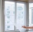 DIY Magic Stick Window Screen Net Mesh Window Screen DIY Insect Fly Bug Mosquito Screen Curtain Protector Sticky Tape Window Net