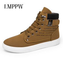 New 2019 Men Sneakers High Top Men Shoes Casual Shoes Fashion Lace Up Men Ankle Boots Comfortable Brand Men Footwear цена