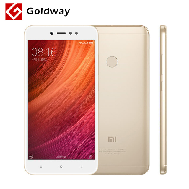 "Original Xiaomi Redmi Note 5A 4GB RAM 64GB ROM Mobile Phone Snapdragon 435 Octa Core 5.5"" 16.0MP Camera Fingerprint MIUI"