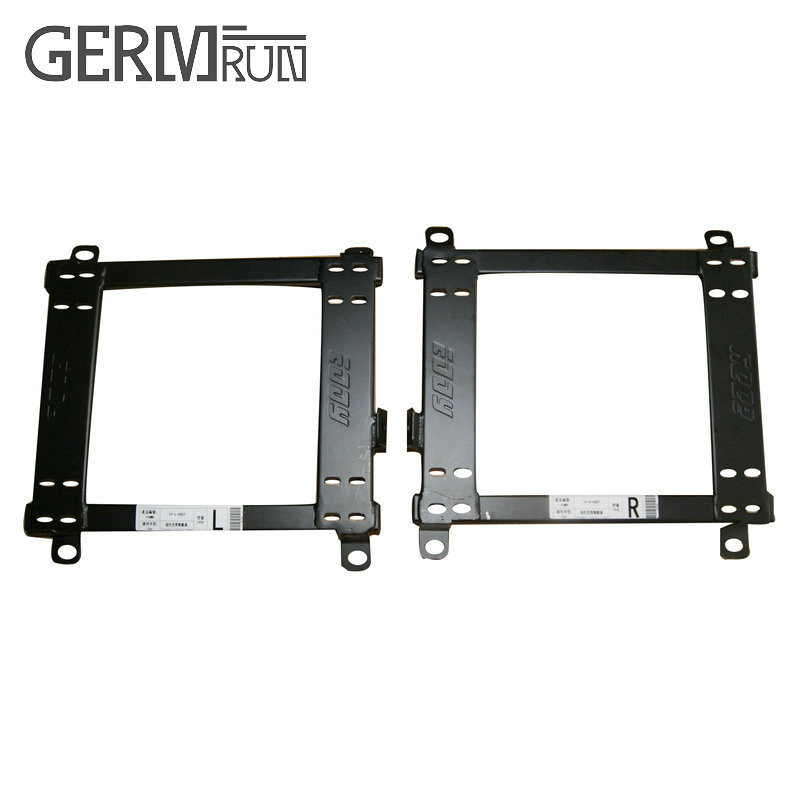 2 Pcs/set SEAT BRACKET For 2008+ HYUNDAI GENESIS COUPE DRIVER SIDE RACING SEAT Seat Brackets Seat Base Mounting ...