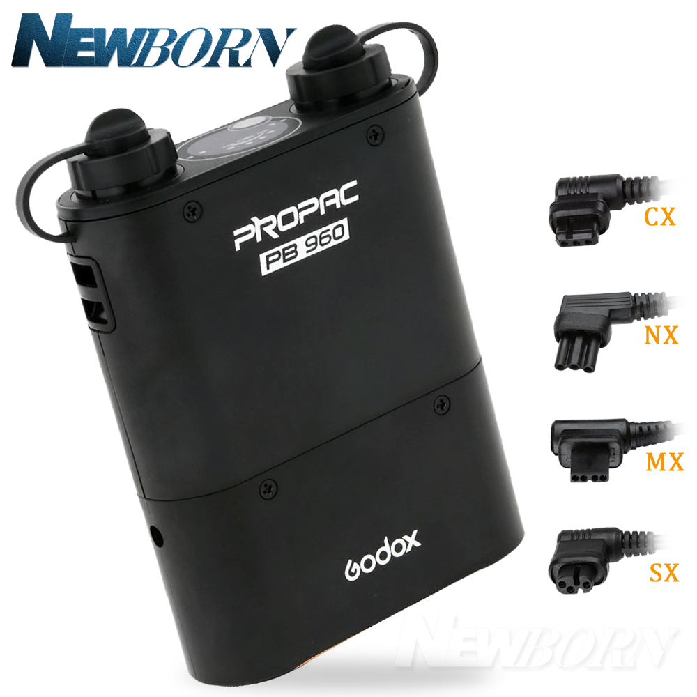 Godox PB960 black Flash Speedlite Power Battery Pack 4500mAh for Nikon canon Yongnuo Godox Sony Metz Flash Speedlite metz planea 55 uhd