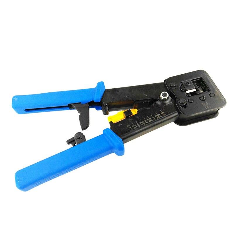 Vornehm Hand Werkzeuge Multi-funktion Kabel Cutter Piercing Kristall Kopf Crimpen Dual-zweck Zange Rj11 Rj45 6 P 8 P Netzwerk Zange Hoher Standard In QualitäT Und Hygiene Zangen