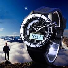 Business Luxury Men Digital Watch 30meters Waterproof Reloj Sport Outdoor Complete Shower Activates Electronic
