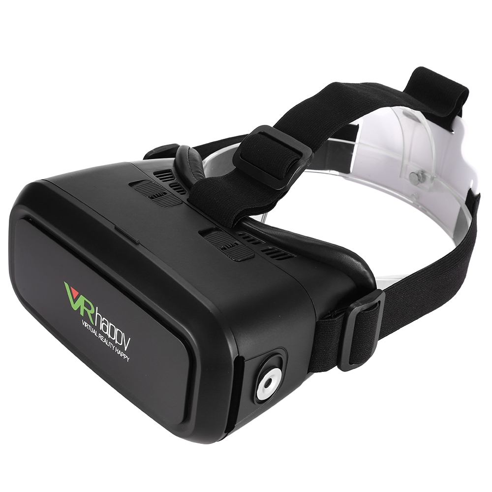 <font><b>VR</b></font> <font><b>Happy</b></font> V5 3D <font><b>Glasses</b></font> Virtual Reality Headset Private Theater Game Video Magnet Ring <font><b>for</b></font> xiaomi/ HTC <font><b>3.5</b></font> - 5.5 inch Smartphones