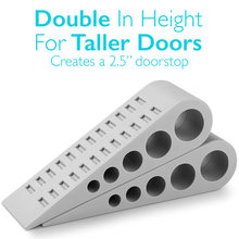 Safe Stopper Environmental Rubber For Heavy Duty Extra Large Wide Door  Wedge Floor Home LB88