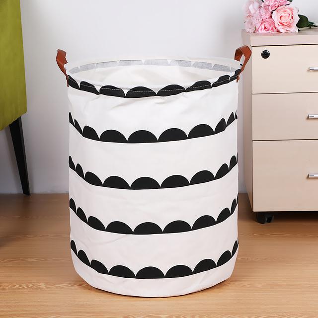 Creative Household Storage Bin / Large Laundry Basket 40x50cm