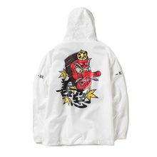 Japonês Kanji Streetwear Homens Jaqueta Bomber Inverno Blusão Impermeável  Com Capuz Outono Mens Jaquetas Hip Hop 519e6bd3b94