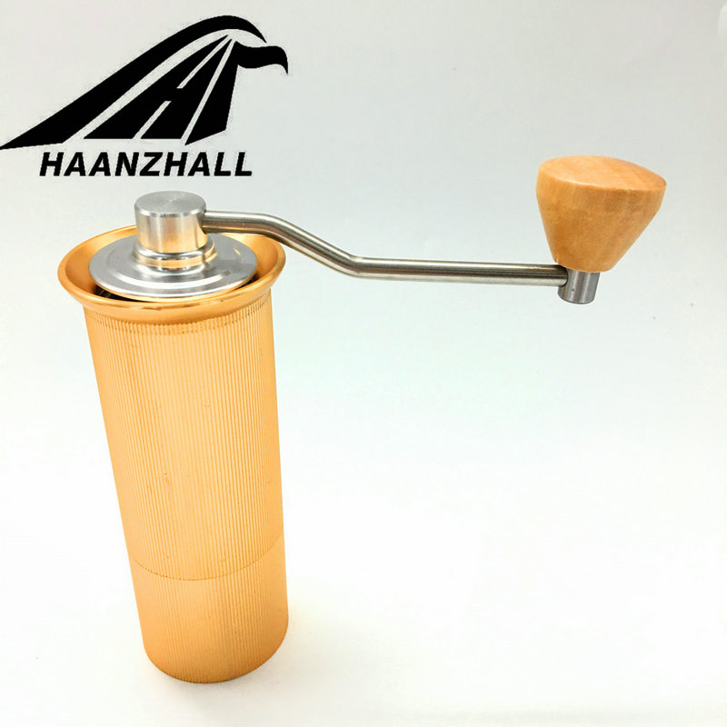 HAANZHALL 45MM Manual Coffee grinder Stainless steel Burr ...
