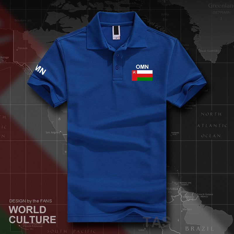 Sultanate of Oman Omani   polo   shirts men short sleeve white brands printed for country 2017 cotton nation team OMN Arabic print