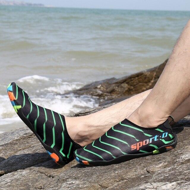 Outdoor Swimming Water Shoes Men Women Sneakers Aqua Beach Shoe Uni Flat Soft Seaside Socks