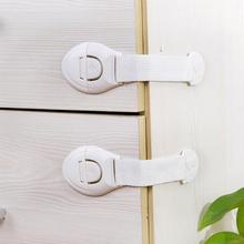 5 pieces / 10 pieces straps children safety locks and long drawer door cabinets with safety locks plastic child protection lock-in Cabinet Locks & Straps