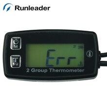 Digital temp sensor TEMP meter temperature thermometer for motorcycle SNOWMOBILE buggy MARINE tractor ATV UTV boat Pit bike oil
