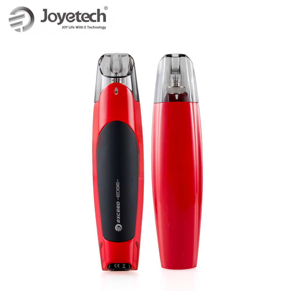 Image 4 - 100% Original Joyetech EXCEED Edge Kit With 2ml Eliquid EX 1.2ohm  Coil Built in 650mAh Battery Direct Output Wattage E  CigaretteElectronic Cigarette Kits
