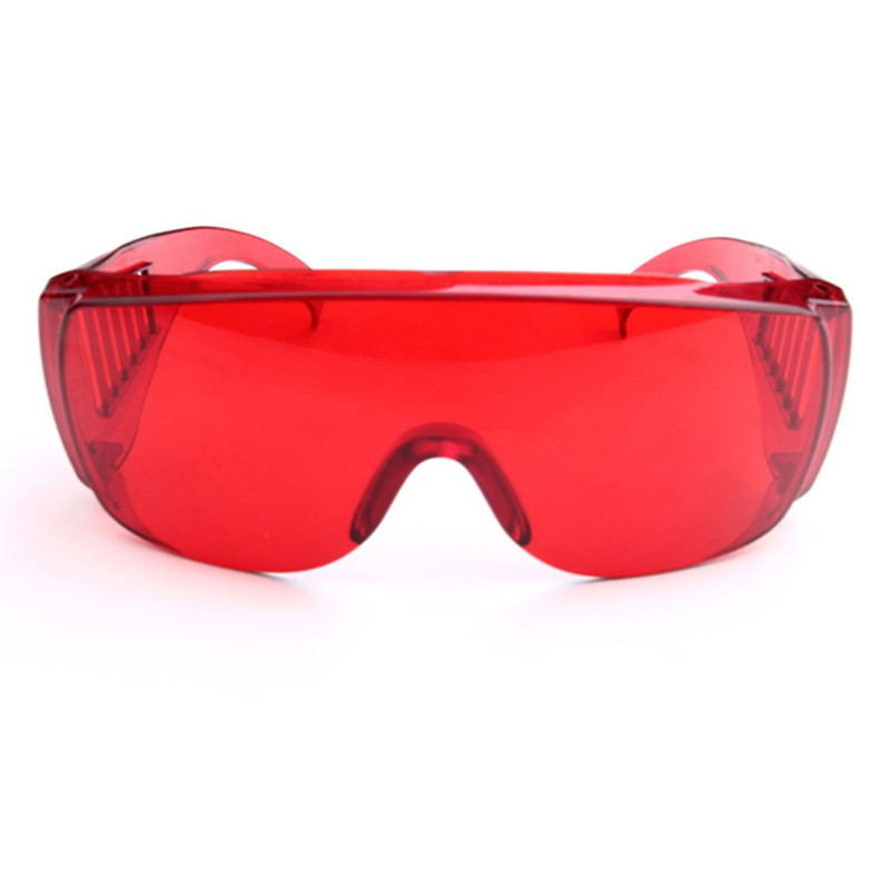 Dental Protective Glasses For Curing Light Teeth Whitening Lamp UV GOGGLE Red Color Dental Tools Dentist Laboratory Equipment