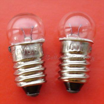 2019 New Rushed Professional Ce Edison Lamp Edison New!miniature Lamps Lighting 6v 0.6w E10 Free Shipping A534